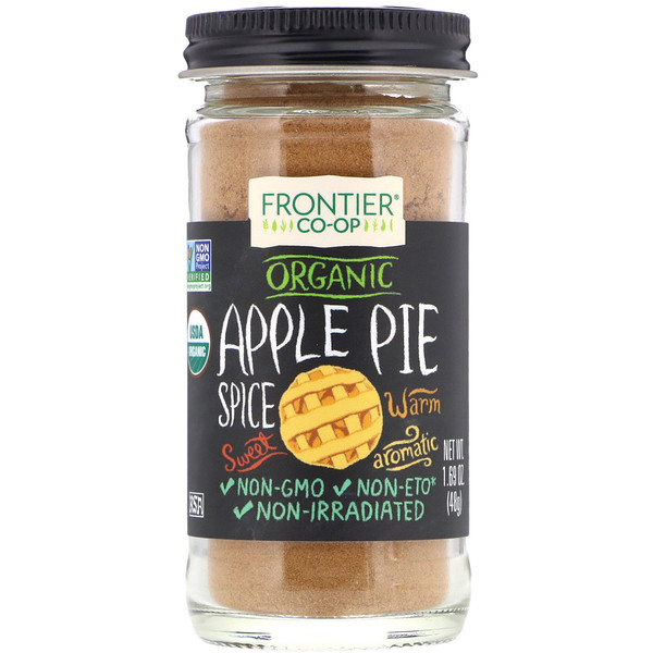 Organic, Apple Pie Spice, Salt-Free Blend, 1.69 oz (48 g)