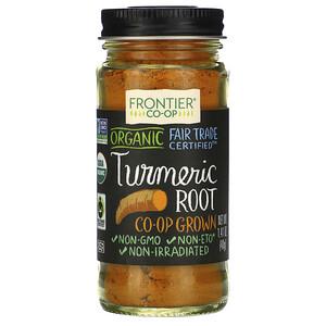 Фронтьер Нэчурал Продактс, Organic Turmeric Root, 1.41 oz (40 g) отзывы покупателей