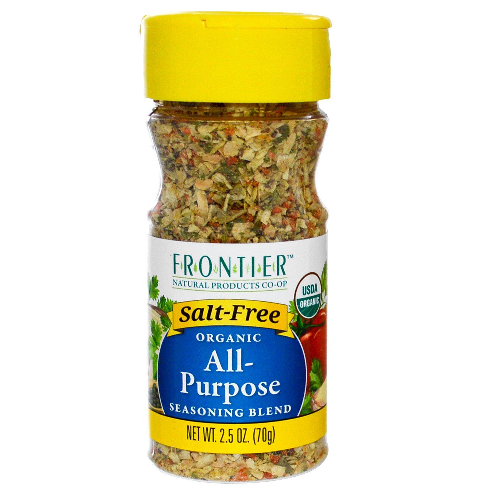 Frontier Natural Products, Органическая универсальная смесь приправ 2.5 унции (70 г)