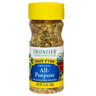 Frontier Natural Products, Organic All-Purpose Seasoning Blend, 2.5 oz (70 g)