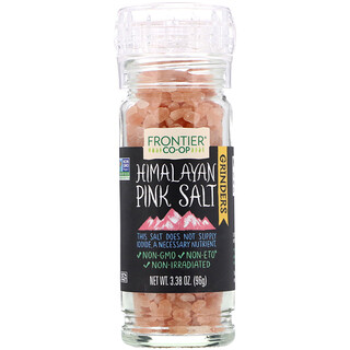 Frontier Natural Products, Himalayan Pink Salt Grinder, 3.38 oz (96 g)