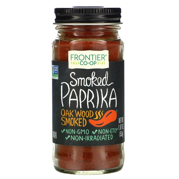 Smoked Paprika, Oak Wood Smoked, 1.87 oz (53 g)