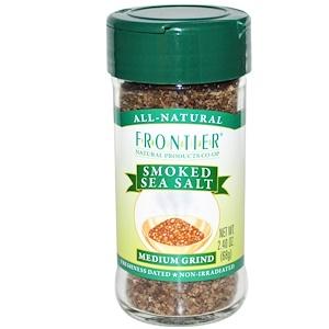 Фронтьер Нэчурал Продактс, Smoked Sea Salt, Medium Grind, 2.40 oz (68 g) отзывы