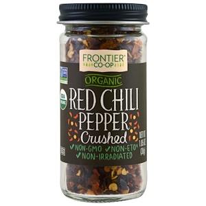 Фронтьер Нэчурал Продактс, Organic Red Chili Pepper, Crushed, 1.05 oz (30 g) отзывы