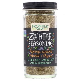 Frontier Natural Products, Za'atar Seasoning, 1.90 oz (55 g)
