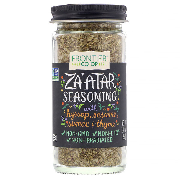 Frontier Natural Products, Za'atar Seasoning, 1.90 oz (55 g)