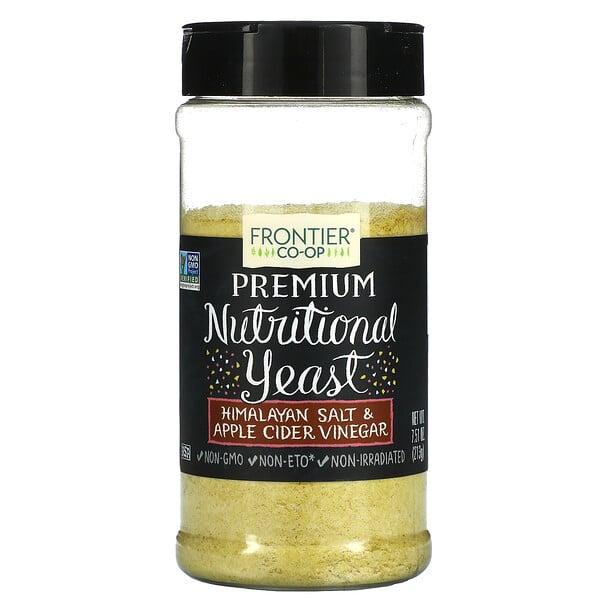 Premium Nutritional Yeast, Himalayan Salt & Apple Cider Vinegar, 7.51 oz (213 g)