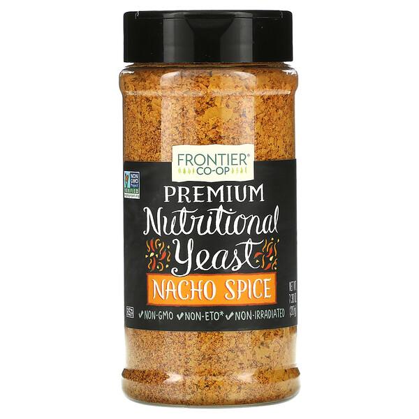 Premium Nutritional Yeast, Nacho Spice, 7.3 oz (207 g)