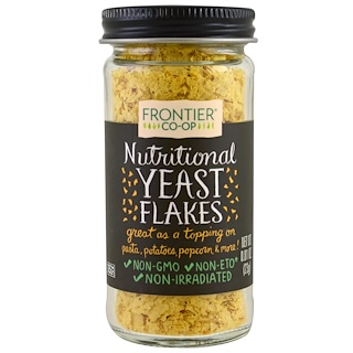 Frontier Natural Products, Nutritional Yeast Flakes, 0.81 oz (23 g)