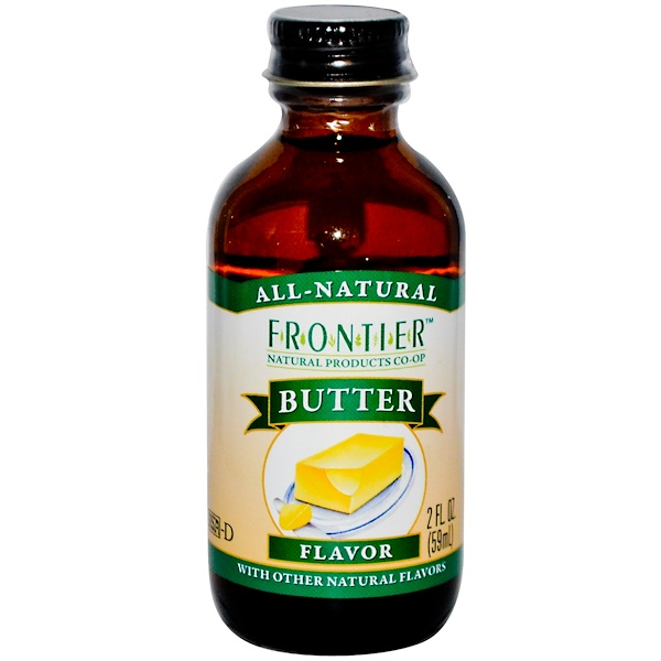 Frontier Natural Products, Butter Flavor, 2 fl oz (59 ml) (Discontinued Item)