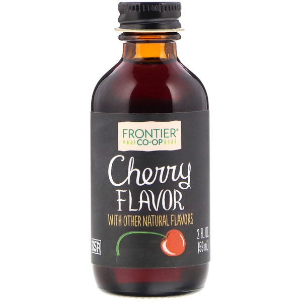 Frontier Natural Products, Sabor cereza, 2 fl oz (59 ml) (Discontinued Item)