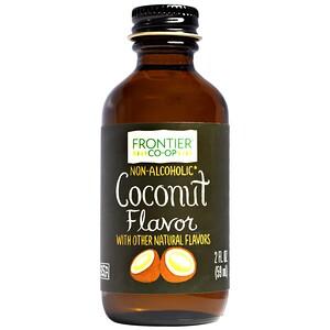 Фронтьер Нэчурал Продактс, Coconut Flavor, Non-Alcoholic, 2 fl oz (59 ml) отзывы