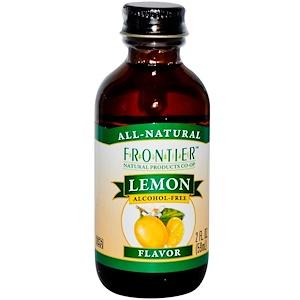 Фронтьер Нэчурал Продактс, Lemon Flavor, Alcohol-Free, 2 fl oz (59 ml) отзывы