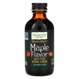 Frontier Natural Products, Maple Flavor, Non-Alcoholic, 2 fl oz (59 ml)