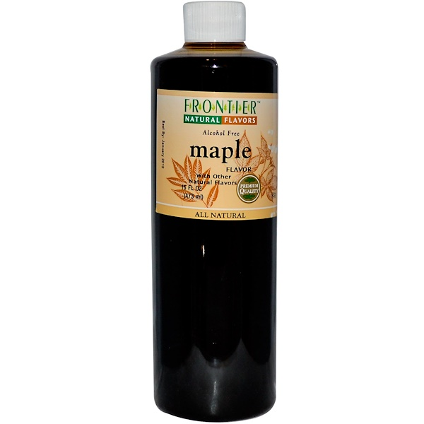 Frontier Natural Products, Maple Flavor, Alcohol Free, 16 fl oz (473 ml) (Discontinued Item)