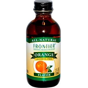 Фронтьер Нэчурал Продактс, Orange Flavor, Alcohol-Free, 2 fl oz (59 ml) отзывы