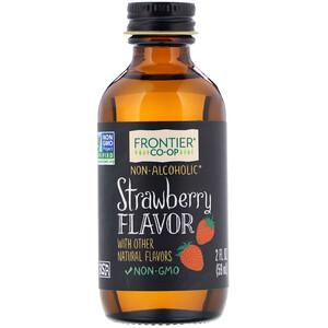Фронтьер Нэчурал Продактс, Strawberry Flavor, Alcohol-Free, 2 fl oz (59 ml) отзывы