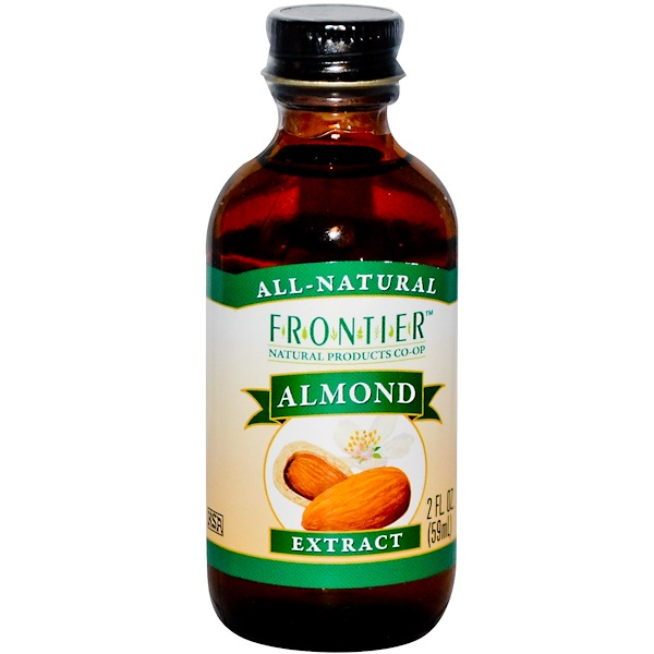 Frontier Natural Products, Almond Extract, 2 fl oz (59 ml) (Discontinued Item)