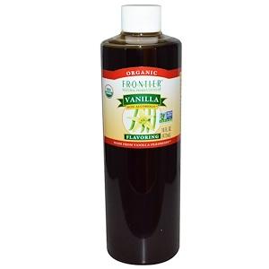 Фронтьер Нэчурал Продактс, Organic, Vanilla Flavoring, Non-Alcoholic, 16 fl oz (472 ml) отзывы
