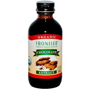 Фронтьер Нэчурал Продактс, Organic Chocolate Extract, 2 fl oz (59 ml) отзывы