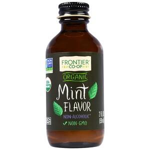 Фронтьер Нэчурал Продактс, Organic Mint Flavor, Non-Alcoholic, 2 fl oz (59 ml) отзывы