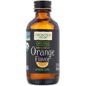 Фронтьер Нэчурал Продактс, Organic Orange Flavor, Alcohol-Free, 2 fl oz (59 ml) отзывы