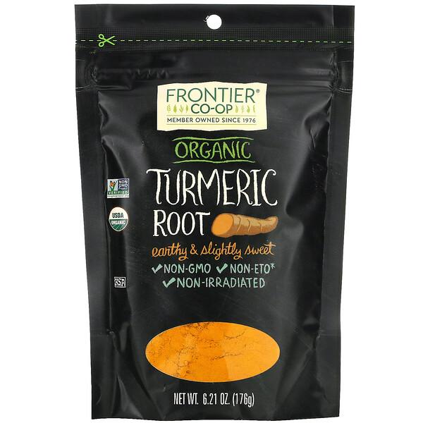 Organic Turmeric Root, 6.21 oz (176 g)
