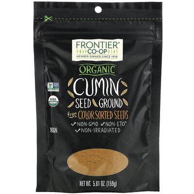 Купить Frontier Natural Products Organic Cumin Seed, Ground, 5.61 oz (159 g)