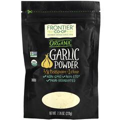 Frontier Natural Products, 有機,大蒜粉,7.76 盎司(220 克)