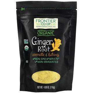 Frontier Natural Products, Organic Ginger Root, 4.09 oz (116 g)