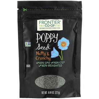 Frontier Natural Products, Poppy Seed, Nutty & Crunchy, 8 oz (227 g)