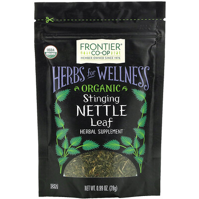 Frontier Natural Products Organic Stinging Nettle Leaf, 0.99 oz (28 g)