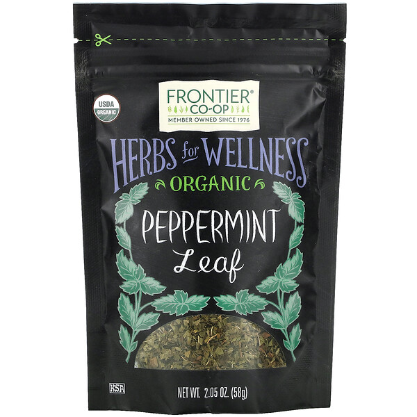 Organic Peppermint Leaf, 2.05 oz (58 g)