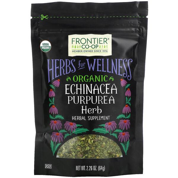 Organic Echinacea Purpurea Herb, 2.26 oz (64 g)