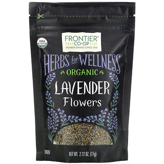 Frontier Natural Products, Organic Lavender Flowers, 2.72 oz (77 g)
