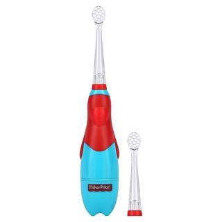 Fisher-Price, BrushBuddies, My First Soniclean, 6+ Months, 1 Toothbrush + Gum Massaging Head