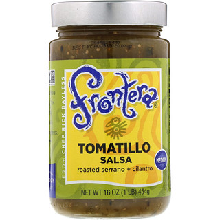 Frontera, Tomatillo Salsa, Medium, 16 oz (454g)