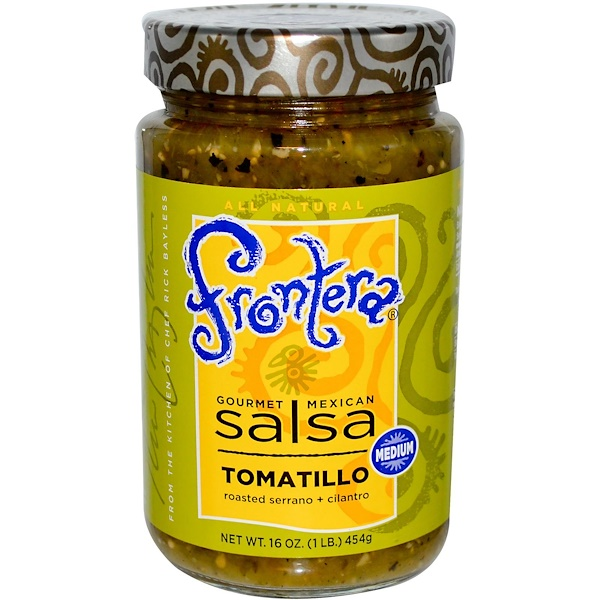 Frontera, Gourmet Mexican Salsa, Tomatillo, Medium, 16 oz (454g)