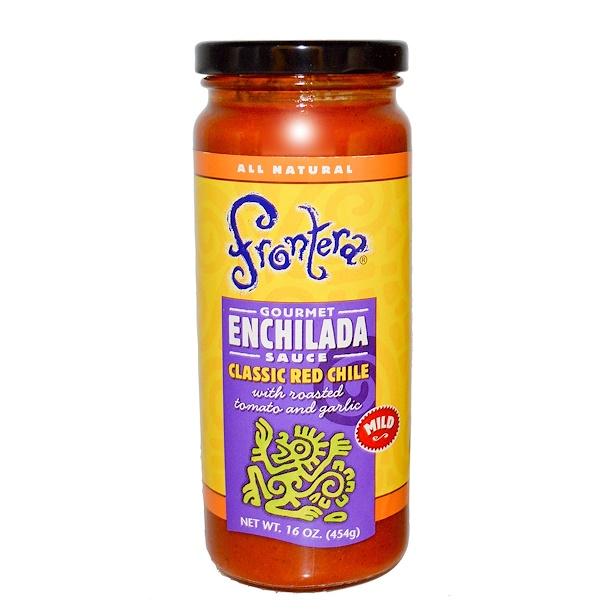 Frontera, Gourmet Enchilada Sauce, Classic Red Chile, Mild, 16 oz (454 g) (Discontinued Item)