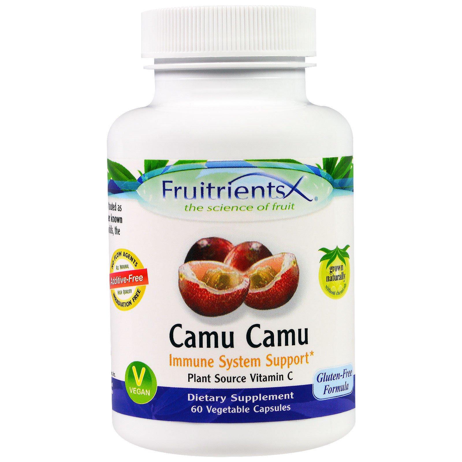 Fruitrients, Каму-каму, 60 вегетарианских капсул