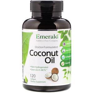 Эмеральд Лабораторис, Coconut Oil, 120 Softgels отзывы