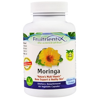 Fruitrients, Moringa, 60 Veggie Caps
