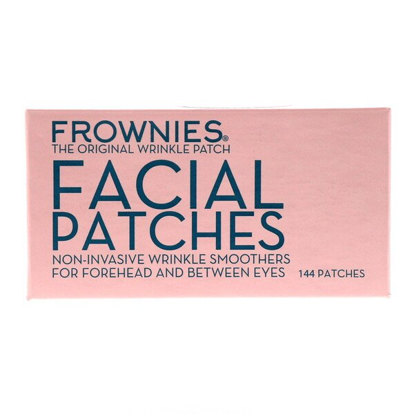 Facial Patches, For Foreheads & Between Eyes, 144 Patches