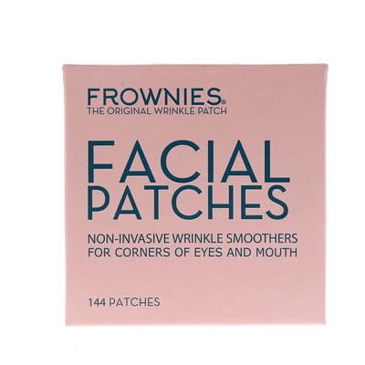 Frownies Аппликационные пластинки для лица, уголков глаз и губ, 144 пластинки  - купить со скидкой