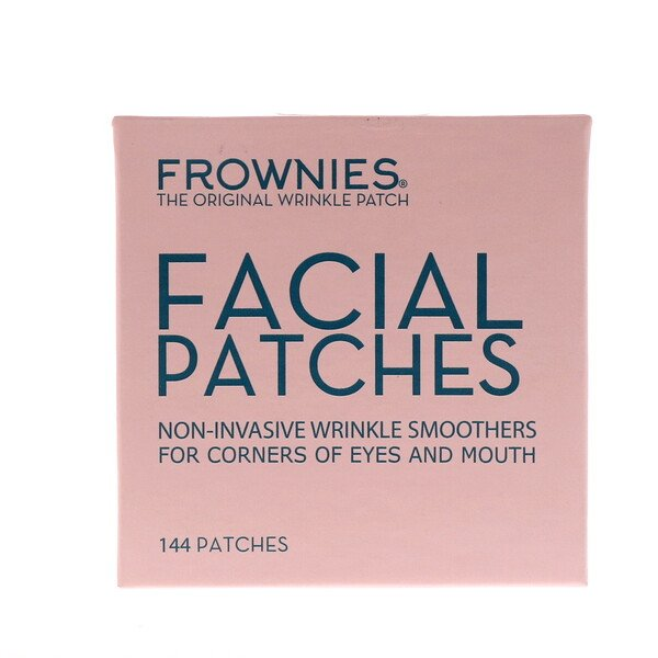 Frownies, Parches faciales para los costados de los ojos y la boca, 144 parches