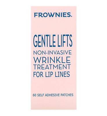 Купить Frownies Мягкий лифт-эффект, средство от морщин для линии губ, 60 самоклеющихся наклеек