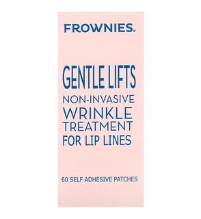 Frownies, Мягкий лифт-эффект, средство от морщин для линии губ, 60 самоклеющихся наклеек