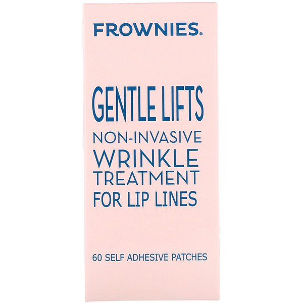 Frownies, Gentle Lifts, Wrinkle Treatment for Lip Lines, 60 Self Adhesive Patches
