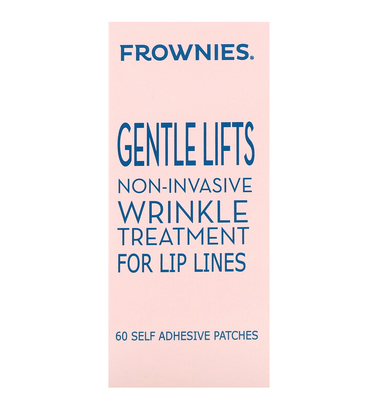 Gentle Lifts, Wrinkle Treatment for Lip Lines, 60 Self Adhesive Patches
