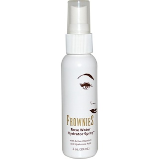Frownies, Rose Water Hydrator Spray, 2 oz (59 ml)